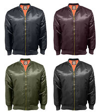 New Men's Soul Star MA1 Flying Military Army Bomber Biker Jacket Skinhead Retro