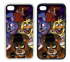 Five Nights at Freddy's Fan Art - Rubber and Plastic Phone Cover Case FNAF