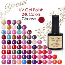 10ML Y&S UV Gel Nail Polish Soak Off UV LED Lamp Manicure Hot Sale Color Decor