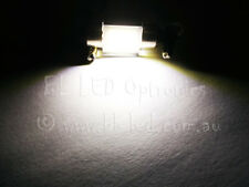 2x 31mm Festoon COB SMD LED Light Bulbs 12V 24V Car Auto Boat Motobike White