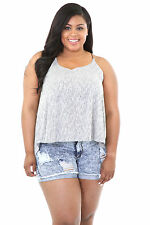 Overlay Tonal Top Casual Cocktail Party Popular Fashion giti online  Plus Size