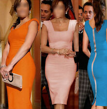 Summer Sexy Women Celebrity Cocktail Evening Party Business Bodycon Pencil Dress