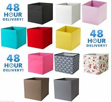 8 X IKEA Drona Box Magazine storage Kallax Shelving Shelf Boxes 48 HOUR DELIVERY