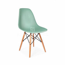 Eames Premium Quality Molded ABS Eiffel Dowel Leg DSW Style  Dining Side Chair