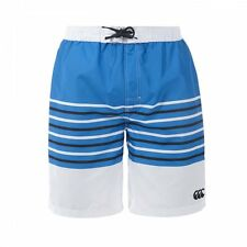 Canterbury Striped Blue Aster/white/carbon Adults Board Shorts Ss15