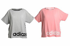 Womens Adidas Loose Fit Tee T-Shirt Top Gym Climalite Size 4-22 XS-XL (G70187)