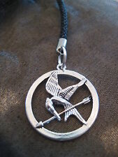 PICK YOUR HUNGER GAMES Charm Mobile Phone Keyring Clip On Mockingjay