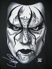NEW WWE Sting Black Scorpion Face Authentic WWE Licensed Shirt WWF WCW SMALL O19