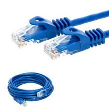 CAT6 Ethernet Lan Network Cable Blue 5ft 15ft 25ft 30ft 50ft 100ft 200ft LOT