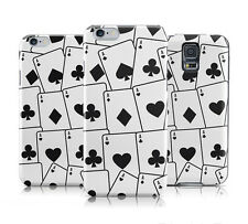 DYEFOR FOUR OF A KIND ACES CARDS HARD BACK PHONE CASE COVER FOR VARIOUS DEVICES