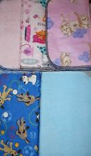 6 cotton flannel & terrycloth fabric UPT wipes towels kitchen bath bed laundry