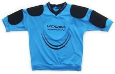 Kooga Warrior IV Adult Black/Cyan Body Armour