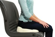 Kabooti Seat and Coccyx Cushion in One! New Wedge Seat Cushion with Donut Hole