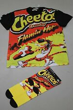 Flamin Hot Cheetos Unisex Matching Socks And Shirt Set