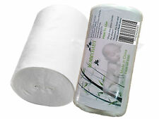 Biodegradable Flushable Viscose Nappy Liners 100 sheets per Roll for baby diaper