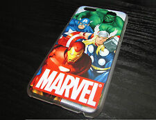 Avengers Case For iPhone 4 4S 5 5S 5C 6 Marvel Ultron Hulk Thor Captain Iron Man