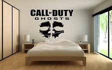 Call Of Duty COD  Ghosts Wall Art Sticker Vinyl Decals PS3 PS4 Xbox 360