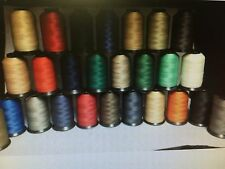 69 (Tex 70) Lt-Mid Weight Bonded Nylon/Poly Upholstery Leather Thread (4oz)
