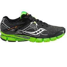 Mens Saucony Mirage 4 Running Shoes Sneakers Black Green Athletic Powergrid