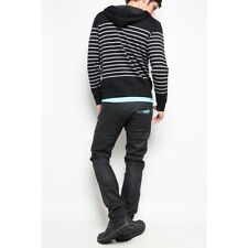 NUDIE JEANS THIN FINN DRY BLACK COATED LAST 100 PIECES