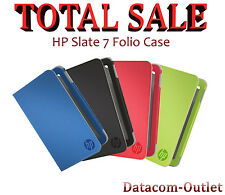 """NEW HP Slate 7 Folio Case - 7"""" tablet case, 4 colours FREE SHIPPING!!!"""