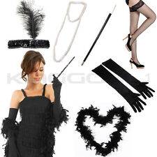 FLAPPER 1920S 20S CHARLESTON LADIES FANCY DRESS ACCESSORIES COSTUME GATSBY GIRL