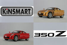 KINSMART 1:34 DIECAST Nissan 350Z Car Red / Gold Color Model COLLECTION New Gift
