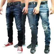 9519 Jack & Jones Erik Original BL 201 Anti Fit Herren Jeans Hose blau Neu