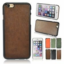 "New Best For Apple iPhone 6 4.7"" PU Leather Hard back cases cover Cool skin"