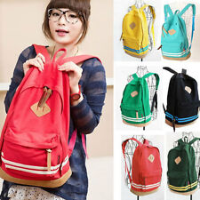 Hot Cheap Nice Salable Unisex Casual Travel Backpack Canvas School Bags Rucksack