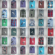 Tommy Hilfiger,Men's Short Sleeve Plaids Woven Casual Shirts.