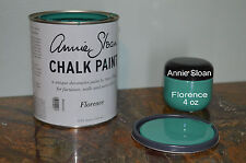 FREE 1oz WAX-BUY 2** Annie Sloan Chalk Paint FLORENCE Country Vtg Chic Furnitur