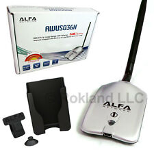 Alfa AWUS036H 1000mW Wi-Fi USB Adapter -Choose Your Accessories- LONG RANGE KIT