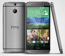 HTC One M8 - 32GB - AT&T (Factory Unlocked) Smartphone - Gunmetal Gray Android