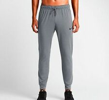 NIKE Dri-FIT Touch Fleece Training Pants - Cool Grey, Black 644291-065 SALE