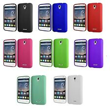 Alcatel One Touch Pop Astro 5042T Thick Rugged TPU Phone Case + Screen Protector