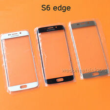 Original Front Glass Lens Touch Screen Replace For Samsung GALAXY S6 Edge G9250