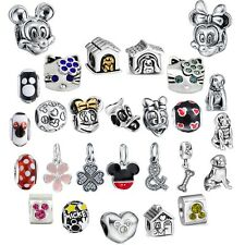 Brand Fashion Cartoon Style 925 Sterling Silver Charm Bead Fit European Bracelet