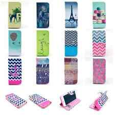 Flip Stand Wallet PU Leather Card Magnetic Case Cover For iPhone 4G 5G 5C 6G 6P