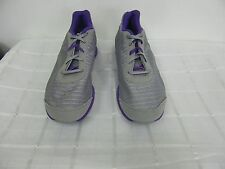 NEW! Reebok Womens EasyTone Lead Walking Shoes-Style J99855-Grey/Purple 6A