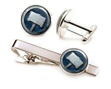 Thor Cufflinks, Thors Hammer Tie Clip, Avengers Jewelry, Ultron, Wedding Gifts