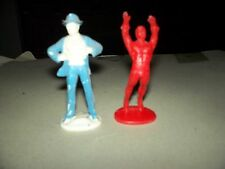 2 Superman Figura Typ.Gulliver Uruguay la industria 1,32 CLARK KENT AND AQUAMAN