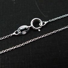 Sterling Silver Necklace Chain-Fine Cable Chain Necklace- All Sizes