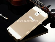 Luxury Ultra-thin Aluminum Metal Bumper + PC Back Case Cover For Samsung Galaxy