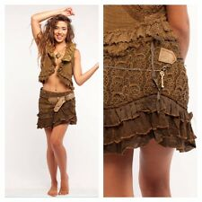STEAMPUNK SKIRT, pixie skirt, elf skirt, GEKKO wrap skirt, steampunk clothing