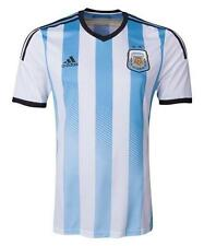 ADIDAS ARGENTINA YOUTH HOME JERSEY KIDS FIFA WORLD CUP BRAZIL 2014 WHITE/BLUE