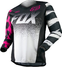 Fox Racing Womens Youth Girls Black Pink White 180 Dirt Bike Jersey MX ATV 2015