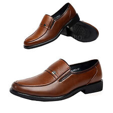 Uomo  lavoro scarpe basse Oxfords Mocassini Slip On scarpe di pelle men shoes