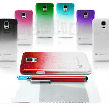 Ultra Slim Clear Transparent Color Case Cover Water Drops for Samsung Galaxy S5