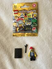 Lego Mini Figure Series 10 - Mechanic  New /opened Packet --- Free Post